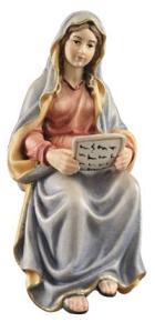 801067 Ko - Maria mit Schrift (zu Verkündigung, Herbergssuche)