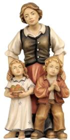 790083 Ra - Hirtin mit 2 Kindern