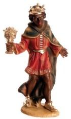 Marolin 73503.3 - König schwarz, stehend zu 9cm, Kunststoff