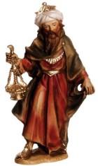 Marolin 74503.1 - König weiß, stehend zu 12cm, Kunststoff
