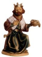 Marolin 74503.2 - König braun, kniend zu 12cm, Kunststoff