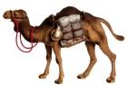 Marolin 74228a - Kamel stehend mit Gepäck zu 12cm, Kunststoff