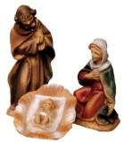 Marolin 712111 - Heilige Familie, 3 tlg. zu 7cm, Kunststoff