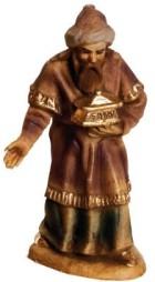 Marolin 71503.2 - König braun stehend zu 7cm, Kunststoff