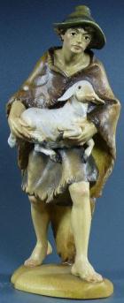 Remo 31 - Hirt mit Schaf zu 16cm coloriert