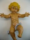Fontanini N.11 - Jesuskind 21cm lang, tipo legno