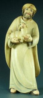 4511 Ar - Hirt mit Lamm im Arm