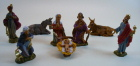 Fontanini 040 8tlg - Figurensatz 8 tlg. zu 4cm tipo legno