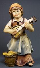 4322 Hei - Mädchen mit Mandoline