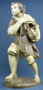 Rupert 012 - Hirt mit Obstkorb zu 12cm