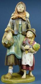 Lepi Heimatliche 011 - Bäurin mit Kind zu 12cm