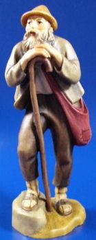 Lepi Heimatliche 205 - Schäfer mit Stock zu 12cm coloriert