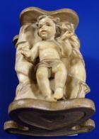 Lepi Heimatliche 001A - Jesukind mit Bauernwiege, 2 tlg. zu 12cm