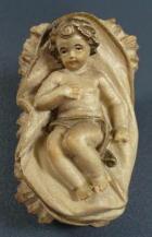Rupert 001 - Jesukind mit Wiege zu 12cm
