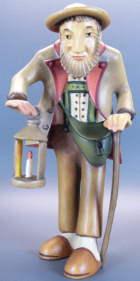 Lepi Kastlunger 03B - Josef mit Stock und Laterne zu 13cm