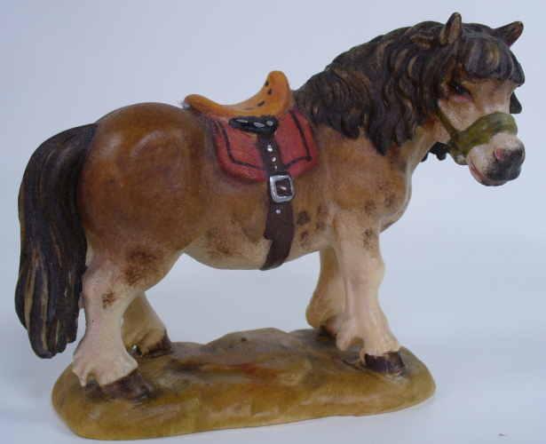 4091 - Pony, passend zu 12cm, lasiert