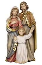 Hl. Familie mit Jesus als Knaben, 11,5cm hoch, coloriert