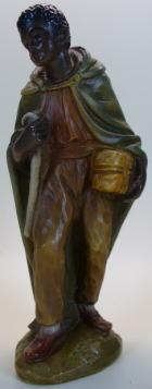 Kameltreiber aus Gießharz, 13cm hoch, coloriert
