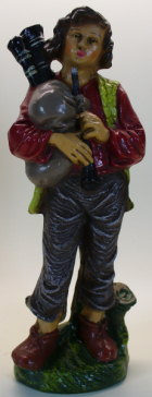 Marolin 538-60 - Hirte jung mit Dudelsack, zu 17cm Figuren
