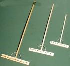 9412x - Rechen aus Holz, verschiedene Längen