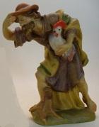 Rifos Krippe - Hirt mit Hahn zu 13cm coloriert - Reste