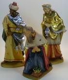 Rifos Krippe - Könige zu 13cm coloriert - Reste