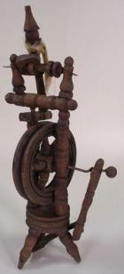 95825 - Spinnrad, ca. 12cm hoch