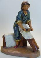 Fontanini 120 234 (lim) - Pergamentmacher zu 12cm tipo legno