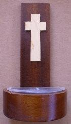 Weihkessel aus Holz, 15cm hoch