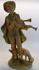 Hirt mit Dudelsack zu 25cm Figuren - Kunststoff