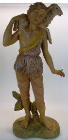 Hirt mit Schaf auf Schulter zu 25cm Figuren - Kunststoff