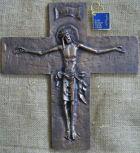 Bronzekreuz, 32cm hoch