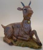 Fontanini 300 44 Bruch - Ziege liegend zu 30cm tipo legno