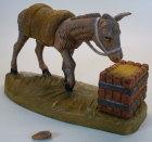 Fontanini 095 907 Bruch - Esel am Trog zu 9,5cm tipo legno