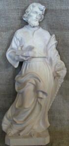 Hl. Josef als Handwerker, 53cm hoch, aus Holz naturbelassen