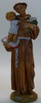 Fontanini 257 - Hl. Antonius, 11cm hoch, tipo legno