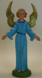 Fontanini 100 051 - Engel stehend zu 10cm coloriert