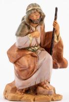Fontanini 120 001 Arab - Josef kniend zu 12cm tipo legno