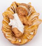 Fontanini 120 014 Arab - Jesus in Krippe zu 12cm tipo legno