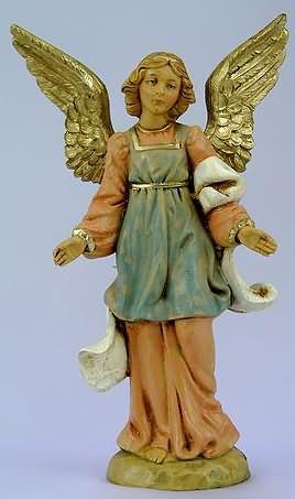 Engel aus Kunststoff