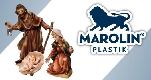 Marolin Krippenfiguren aus Kunststoff