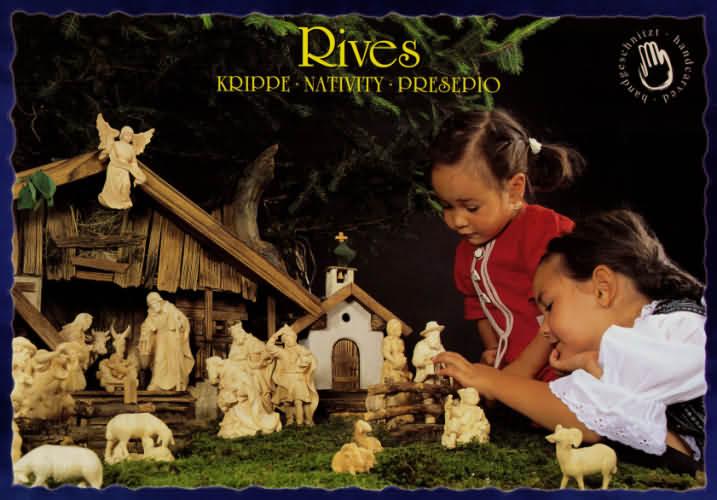 Riveskrippe - Deur